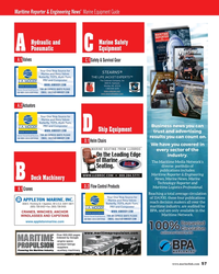 MR Jun-19#57 Maritime Reporter & Engineering News'  Marine Equipment