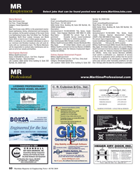 MR Jun-19#60 MR Select jobs that can be found posted now on www.MaritimeJ