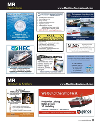 MR Jun-19#61  ASSOCIATES, INC. Bringing Engineering to Successful Fruition Naval