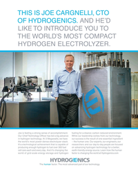 MR Jun-19#5 THIS IS JOE CARGNELLI, CTO  OF HYDROGENICS. AND HE'D