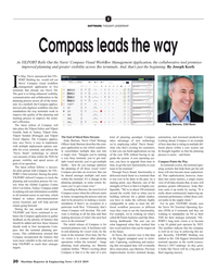 MR Jul-19#20 S SOFTWARE: THOUGHT LEADERSHIP Compass leads the way As
