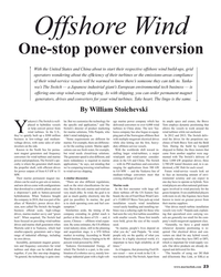 MR Jul-19#23 Offshore Wind One-stop power conversion With the United