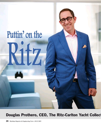 MR Jul-19#26 Puttin' on the   Ritz Douglas Prothero, CEO, The Ritz-Carlto