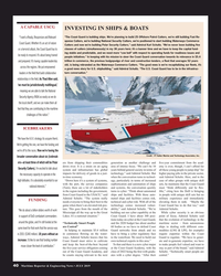 "MR Jul-19#40 A CAPABLE USCG INVESTING IN SHIPS & BOATS  ""The Coast"