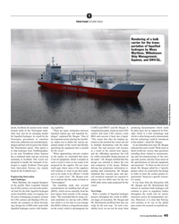 MR Jul-19#45 T TECH FILES FUTURE FUELS Rendering of a bulk  carrier for
