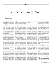 MR Jul-19#57 O OPINION: ON POINT WITH JOE KEEFE Trade, Trump & Trust (Con