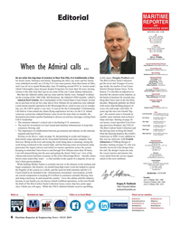 MR Jul-19#6 MARITIME Editorial REPORTER AND ENGINEERING NEWS M A R I N