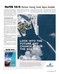 MR Jul-19#7 MarTID 2019: Maritime Training Trends Report Available As