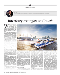 MR Aug-19#16 I INSIGHTS: FERRY BUSINESS Mike Corrigan Interferry CEO