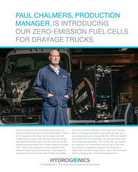 MR Aug-19#21 PAUL CHALMERS, PRODUCTION  MANAGER, IS INTRODUCING  OUR
