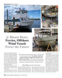 MR Aug-19#48  Gov- screw aluminum ferry boat, Isle of Fire  in the Northeast