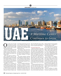MR Aug-19#64 , Dubai is the leading mari- Panama Maritime Authority. mains