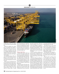 MR Aug-19#66  REPORT THE MIDDLE EAST Dubai DP World solidated cargo as