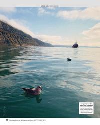 "MR Sep-19#30 MARINE FUEL: ""GREEN AMMONIA"" Longyearbyen is the  largest"