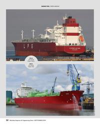 "MR Sep-19#32 MARINE FUEL: ""GREEN AMMONIA"" Above LPG vessel  Clipper"