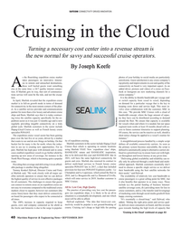 MR Sep-19#40  cruise operators. By Joseph Keefe s the ?  ourishing