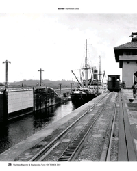 MR Oct-19#26 HISTORY THE PANAMA CANAL 26     Maritime Reporter &