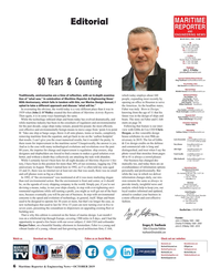 MR Oct-19#6 , Sales   80 Years & Counting Rob Howard howard@marinelink.com Web