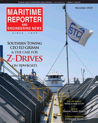 MR Nov-19#Cover  NEWS SINCE  1939 Southern Towing   CEO ED GRIMM &