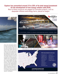 MR Nov-19#27  projects, such as  deepwater offshore wind energy farms