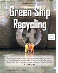 MR Nov-19#52 ENVIRONMENTAL GREEN SHIP RECYCLING Green Ship  Recycling A