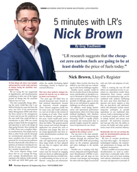MR Nov-19#64 VOICES NICK BROWN, DIRECTOR OF MARINE AND OFFSHORE, LLOYD'S