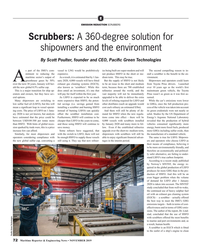 MR Nov-19#72 E EMISSION REDUCTION SCRUBBERS Scrubbers: A 360-degree
