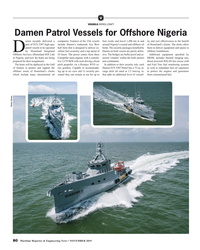MR Nov-19#80 V VESSELS PATROL CRAFT Damen Patrol Vessels for Offshore