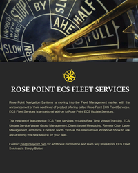 MR Nov-19#85 ROSE POINT ECS FLEET SERVICES Rose Point Navigation