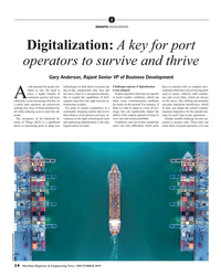 MR Dec-19#14 I INSIGHTS: DIGITALIZXATION Digitalization: A key for