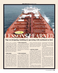 MR Dec-19#29 GREAT SHIPS OF 2019 A METHANOL FUTURE LESSONS LEARNED Tips
