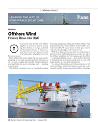 "MR Jan-20#12  for work in wind by leverag- turbine foundations"", but its"