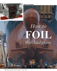 MR Jan-20#28 REPAIR & CONVERSION How to FOIL  Well laid plans 28