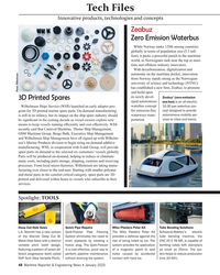 MR Jan-20#48 Tech Files Innovative products, technologies and concepts Ze
