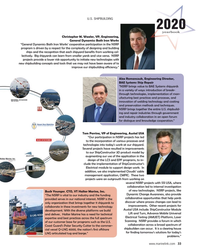 MR Jun-20#33 u.S. ShIpbuILdINg 2020 yearbook Christopher M. Waaler, VP