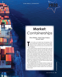 MR Jun-20#39 Global Markets: CoNtaiNersHips 2020 yearbook Market: