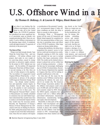 MR Jun-20#46 OffshOre wind U.S. Offshore Wind in a Post-COVID-19