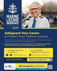MR Jun-20#4th Cover MARINE LICENSE INSURANCE UNDERWRITTEN BY Safeguard Your