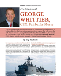 MR Jul-20#30 INTERVIEW GeorGe WHittier, FAirBAnkS MorSe  Five Minutes