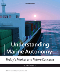 MR Jul-20#36 auTonoMous sHips Understanding  Marine Autonomy:   Photo: