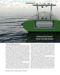 MR Jul-20#38 auTonoMous sHips Autonomous guard  vessel concept design