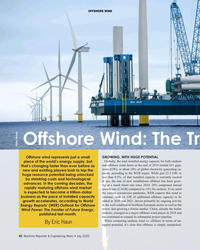 MR Jul-20#42 offsHore wind Offshore Wind: the trillion Dollar Business Photo: