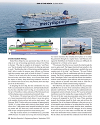 MR Sep-21#20 SHIP OF THE MONTH  GLOBAL MERCY  Photo courtesy Mercy
