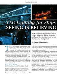 MR Sep-21#40 TECH FEATURE LIGHTING U.S. Navy photo by Mass Communication