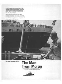 Marine News Magazine, page 11,  Jun 1969 Moran MORAN TOWING & TRANSPORTATION CO. INC.