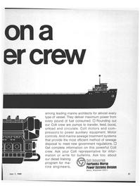 Marine News Magazine, page 29,  Jun 1969 marine sewage treatment systems