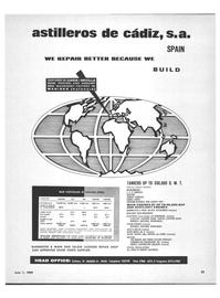Marine News Magazine, page 31,  Jun 1969 WAIN AND SULZER