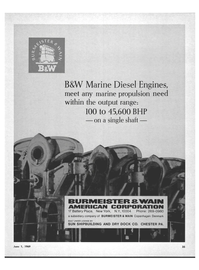 Marine News Magazine, page 33,  Jun 1969 SUN SHIPBUILDING AND DRY DOCK