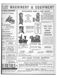 Marine News Magazine, page 43,  Jun 1969 AP3 BRONZE AUXILIARY CIRCULATOR
