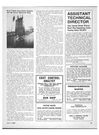 Marine News Magazine, page 63,  Jun 1969 Southern California